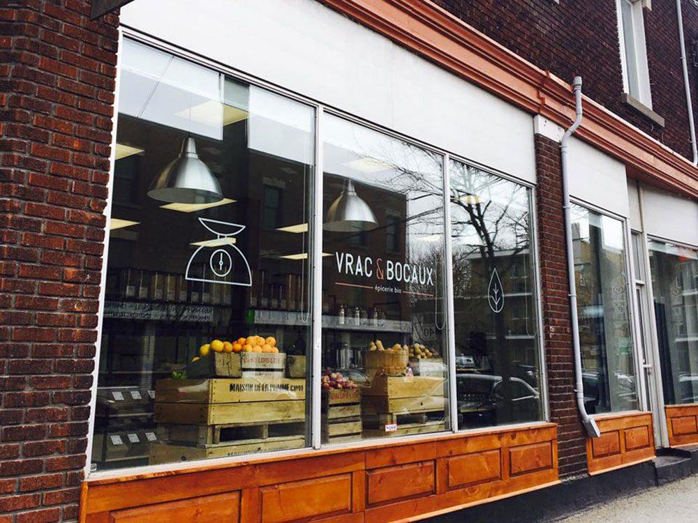 Vrac & Bocaux est une épicerie zéro déchet.