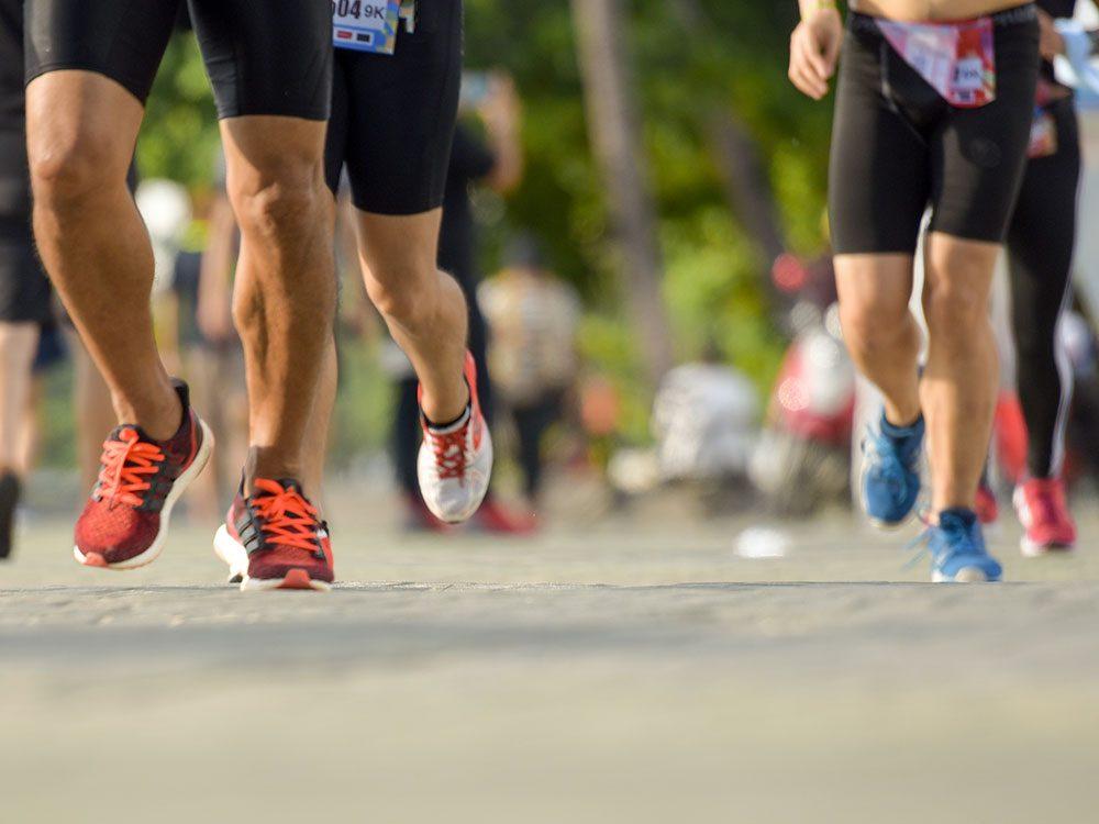 La Course à la vie CIBC est un bon moyen de faire du sport pour la bonne cause.
