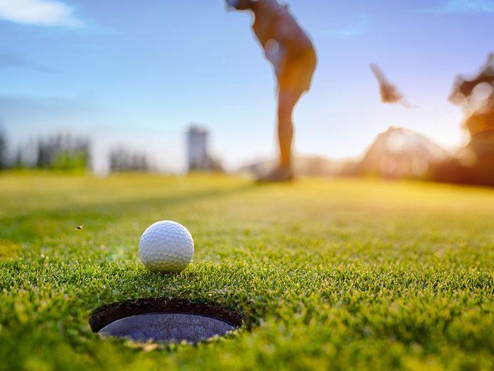 Faites du sport, et plus exactement du golf, pour la bonne cause!