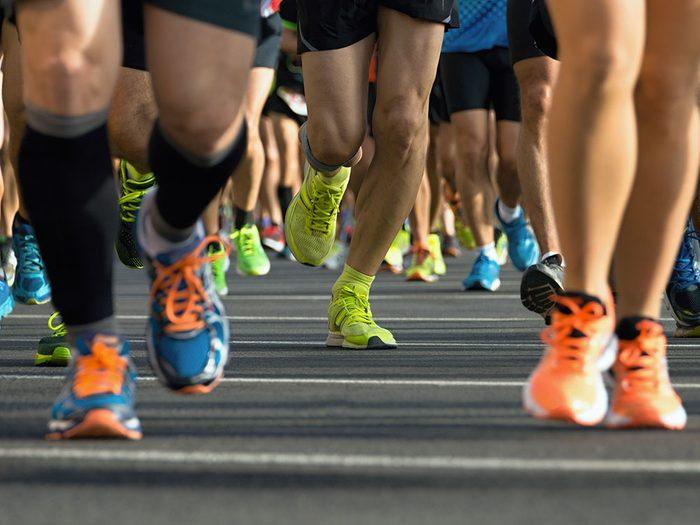 Le Dix de Coeur, est un bon moyen de faire du sport pour la bonne cause.