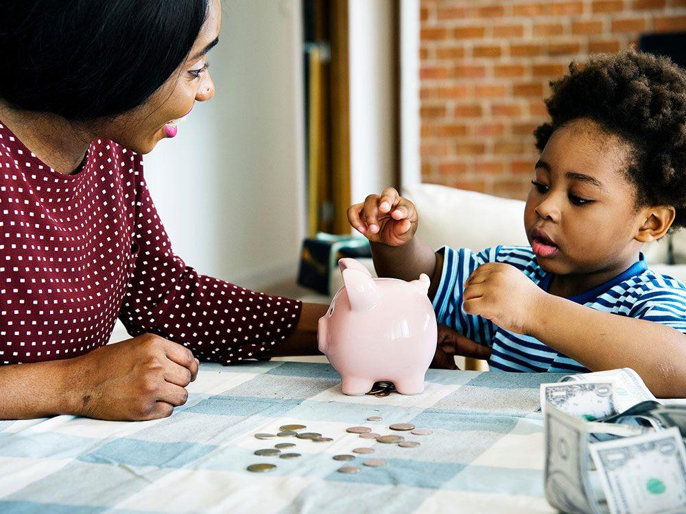 Ayez pour habitude financière de vous fixer des objectifs.