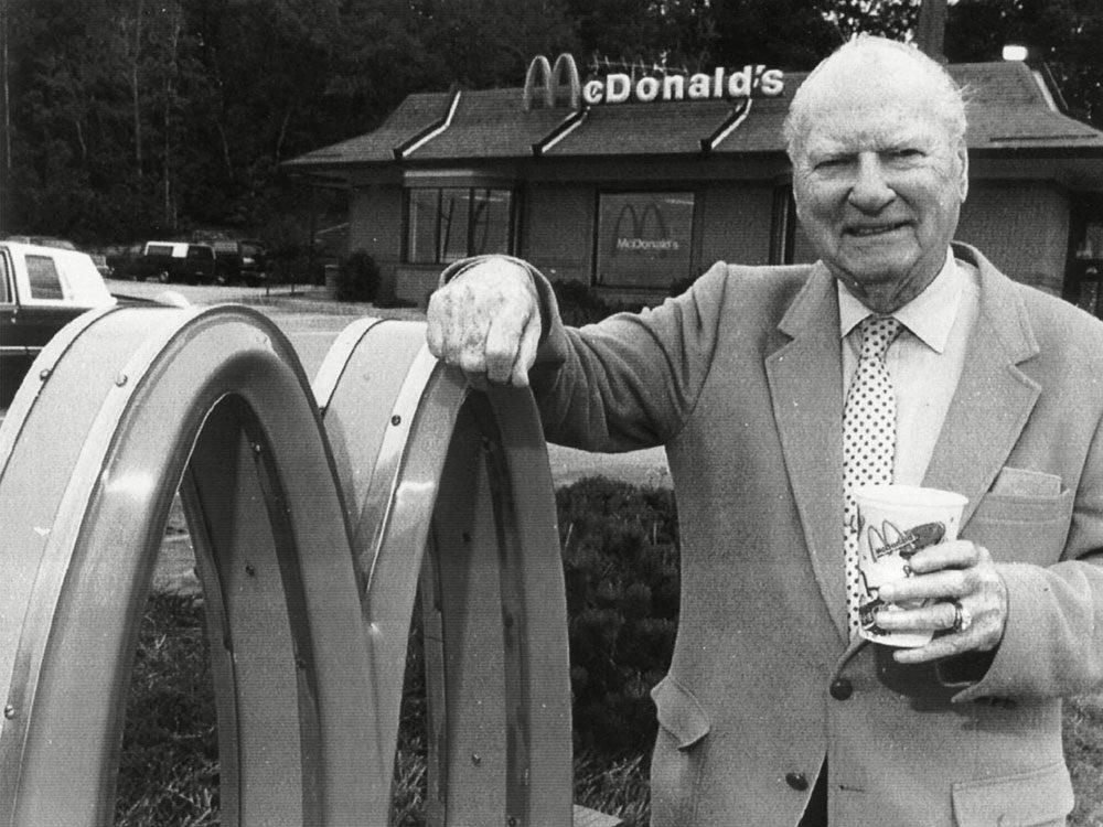 Les arches dorées de McDonald's n'ont pas toujours eu ce look.