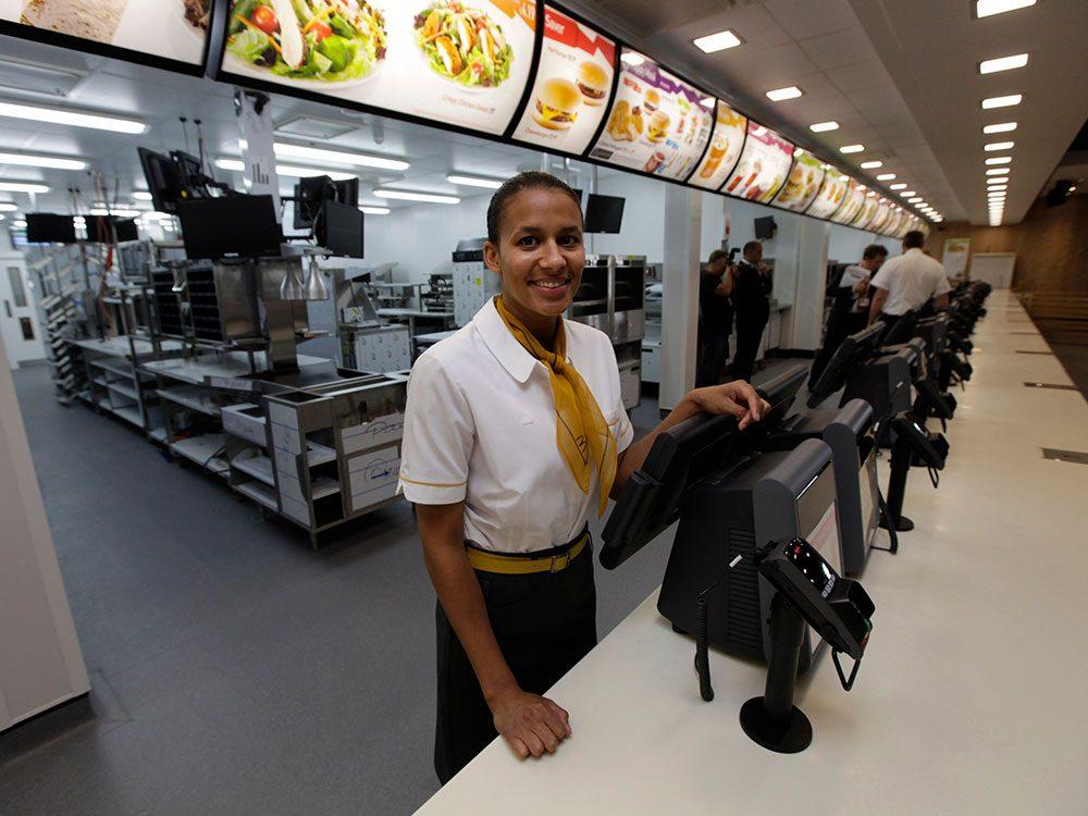 McDonald's sur le vieux continent prend un virage vert.