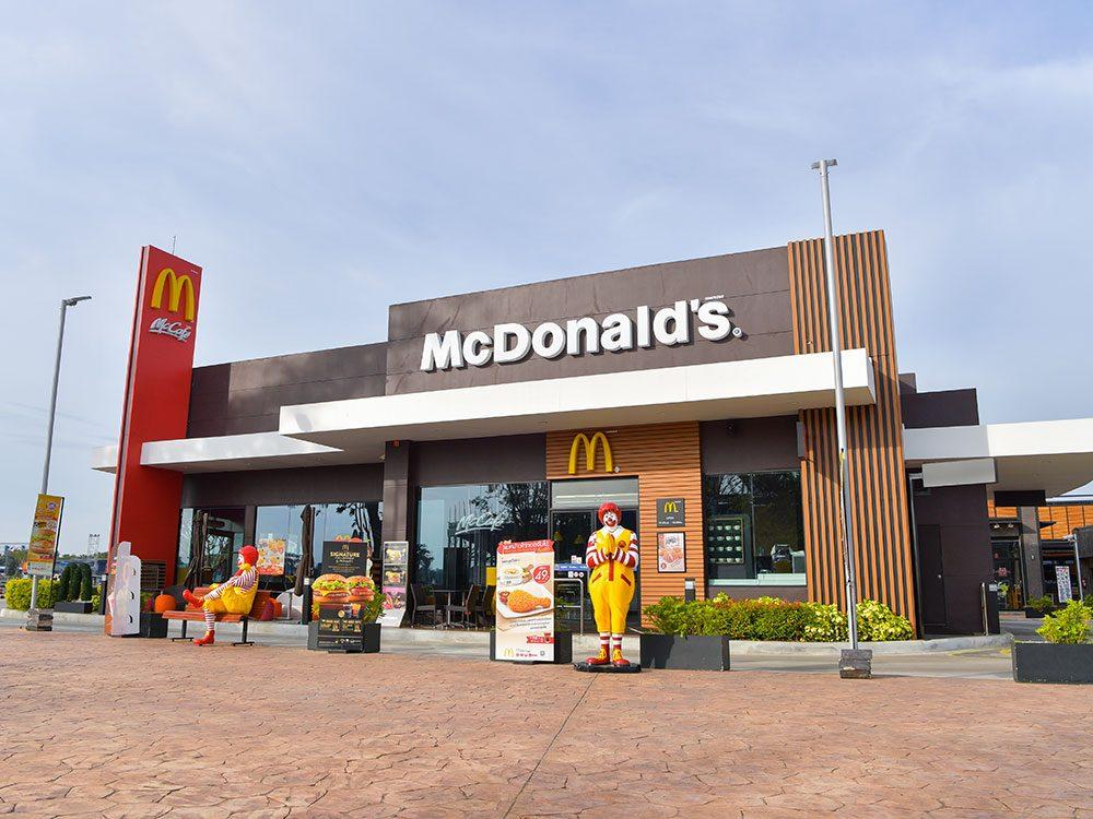 Il y a plus de McDonald's aux États-Unis que d'hôpitaux.