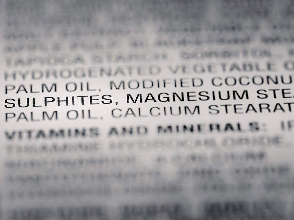 Certains produits McDonald's contiennent des dizaines d'ingrédients.