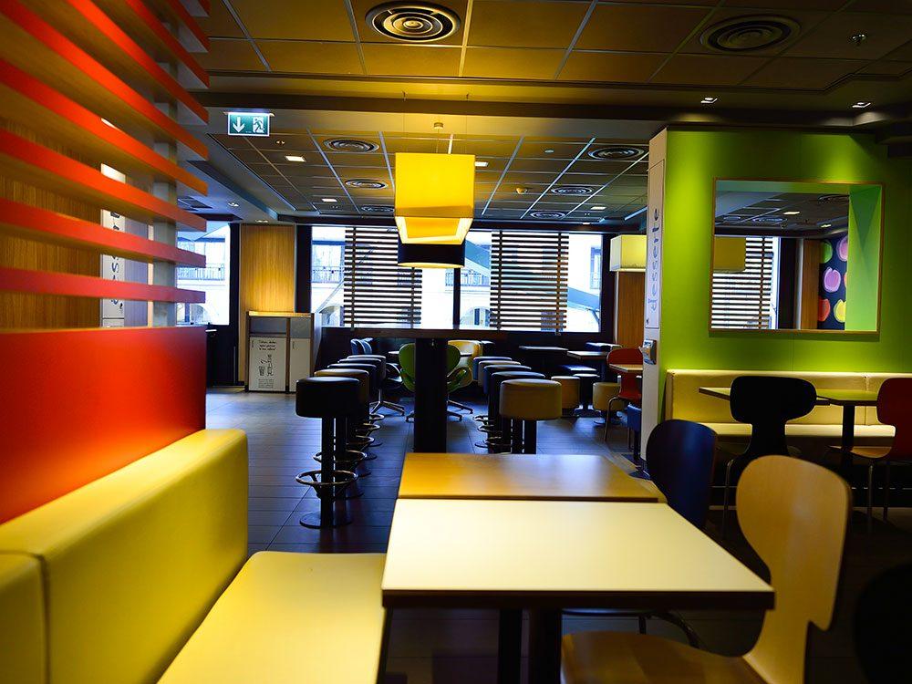 La tradition d'un couple marié depuis plus de 60 ans a pris fin chez McDonald's.
