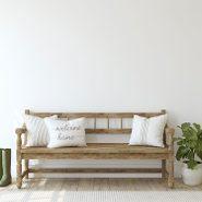 Désencombrez l'entrée de la maison pendant votre ménage d'automne.