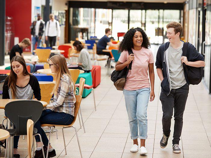 Des systèmes ont été mis en place pour le mieux vivre des étudiants au Collège de Maisonneuve.
