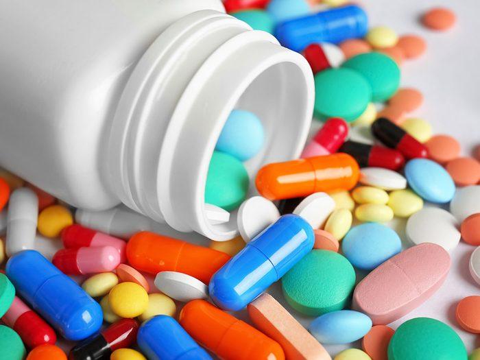 Erreur no 4: vous prenez plus d'un type de suppléments probiotiques.