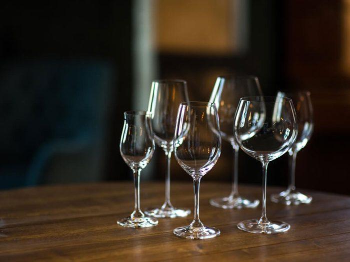 Les restaurateurs doivent surveiller vos ustensiles et vos verres.