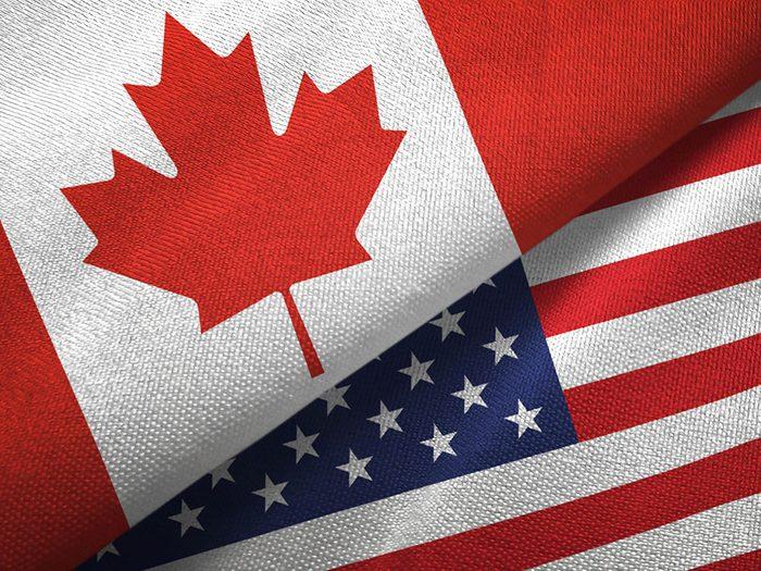 Le Canada et les États-Unis ont un point de vue différent sur le trafic illégal.