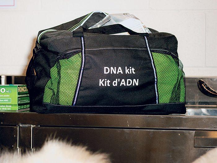 Les analyses ADN ont un rôle important pour lutter contre le trafic illégal.