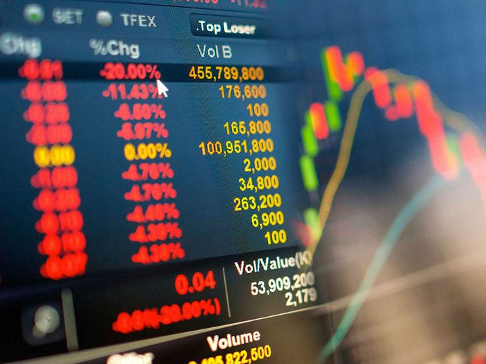 Le deuxième pire krach de l'histoire du marché boursier américain a eu lieu un vendredi 13.