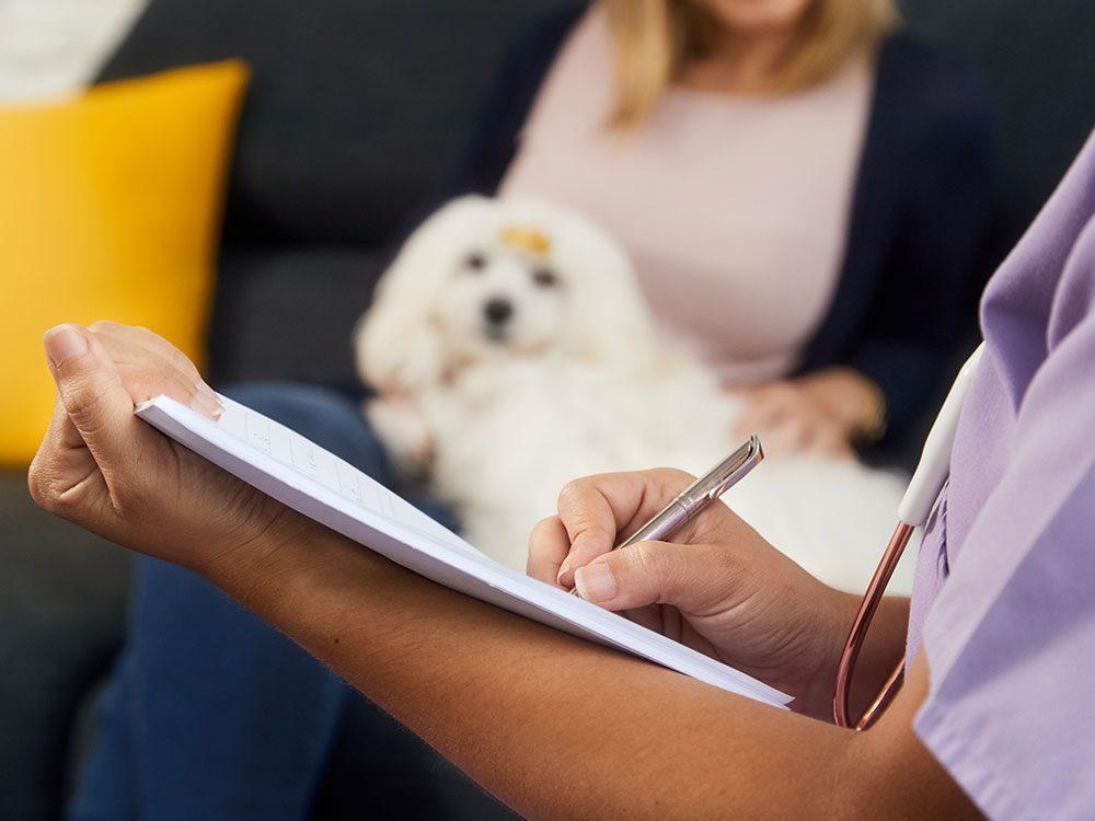 Vous vérifiez systématiquement les diagnostics de votre vétérinaire.