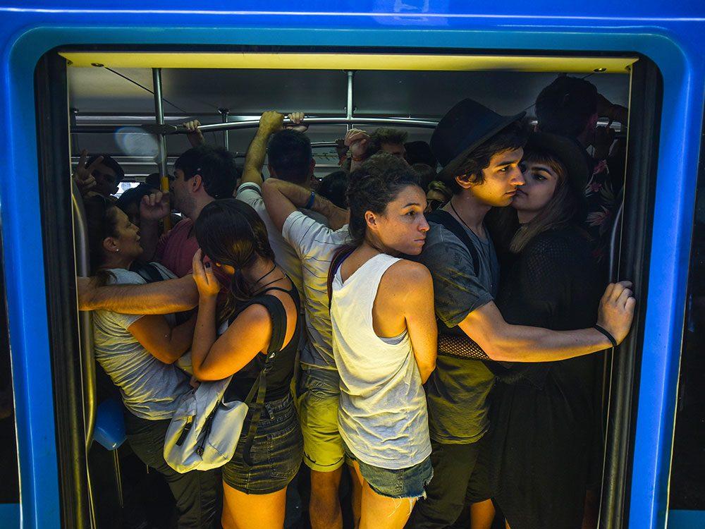 Buenos Aires en Argentine est l'une des villes les plus peuplées au monde.