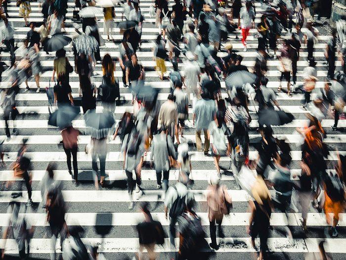 Osaka au Japon est l'une des villes les plus peuplées au monde.