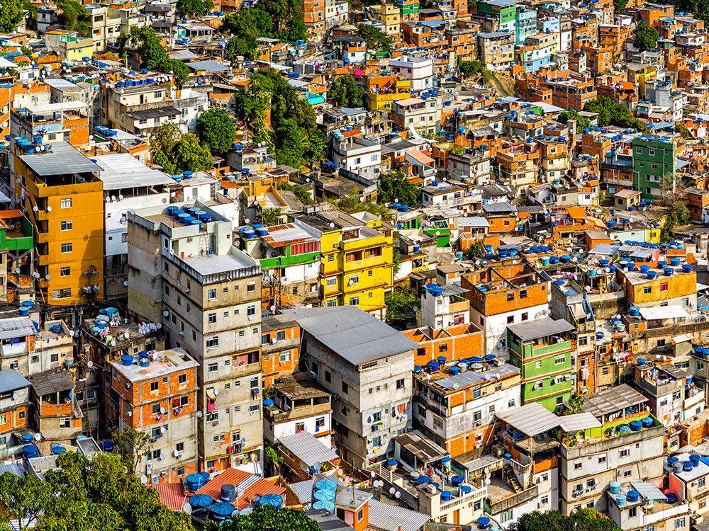 Rio de Janeiro au Brésil est l'une des villes les plus peuplées au monde.