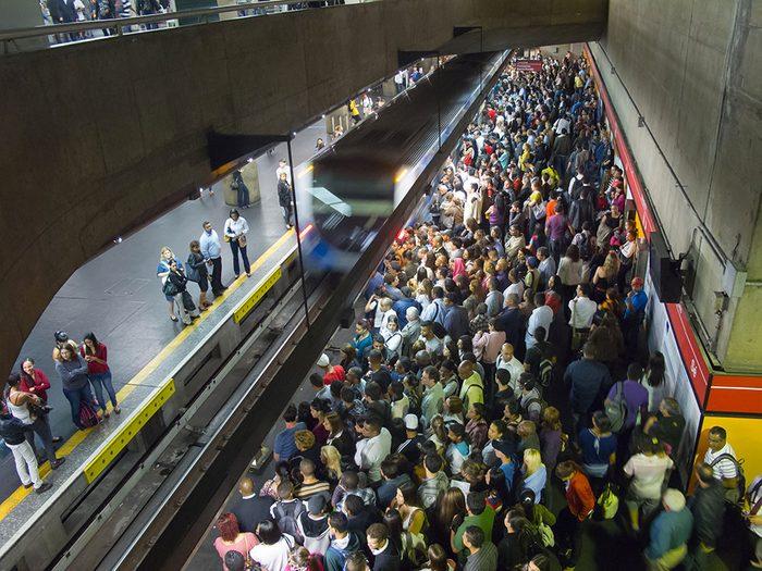 Sao Paulo au Brésil est l'une des villes les plus peuplées au monde.