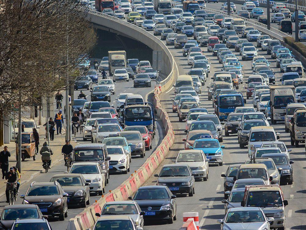 Tianjin en Chine est l'une des villes les plus peuplées au monde.