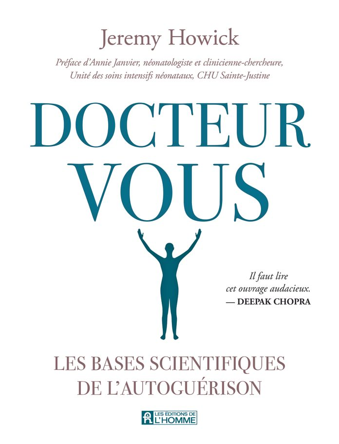 Couverture du livre: Docteur Vous, de Jeremy Howick.
