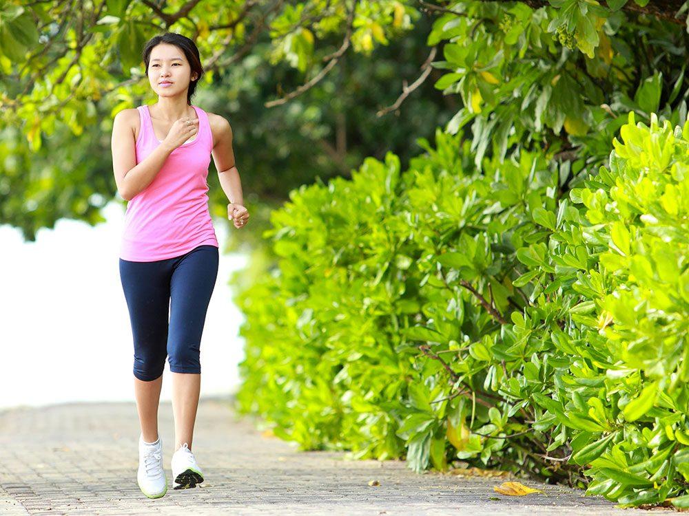 La recherche montre qu'aussi peu que 20 minutes d'activité physique par jour peuvent entraîner une réduction de 20 pour cent de la mortalité précoce sur une période de sept ans.