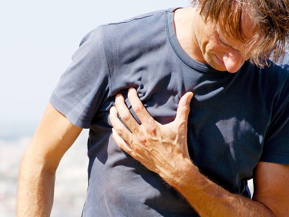 Vous avez un serrement dans la poitrine? C'est peut-être de l'asthme.