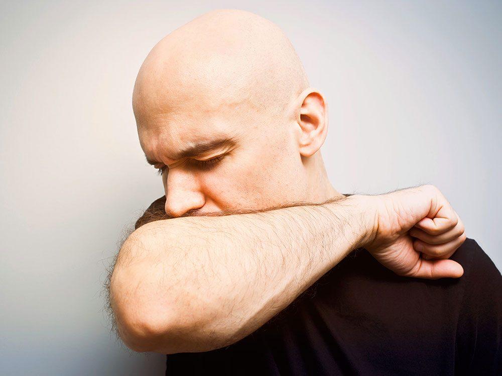 La toux peut aussi être un signe d'asthme.