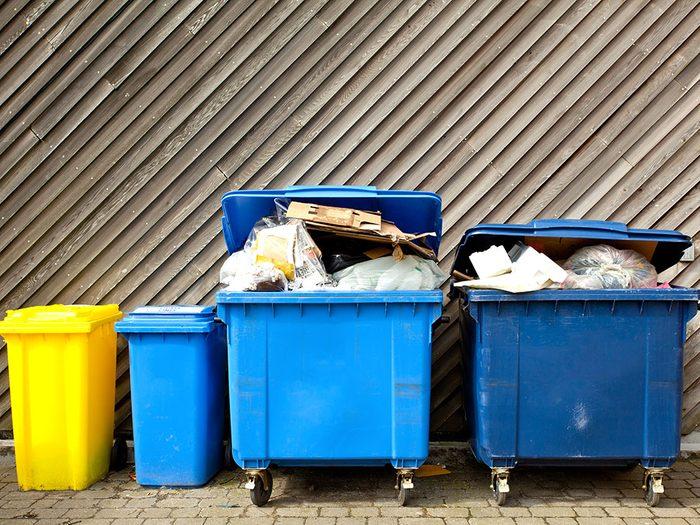 Les astronautes ne peuvent pas produire de déchets.