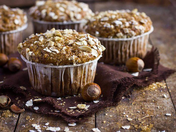 Les muffins au son ne sont pas aussi bons pour la santé que ce qu'on pense.