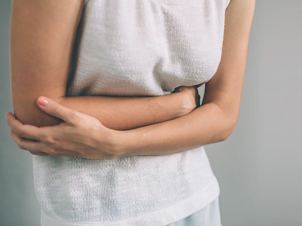 Si vous avez une sensation de ballonnement, c'est un signe du cancer de la vésicule biliaire.
