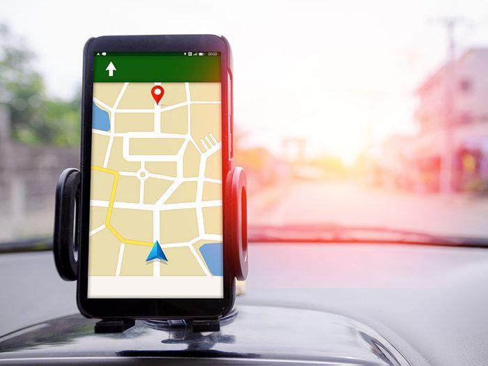 Le GPS est une chose gratuite maintenant.
