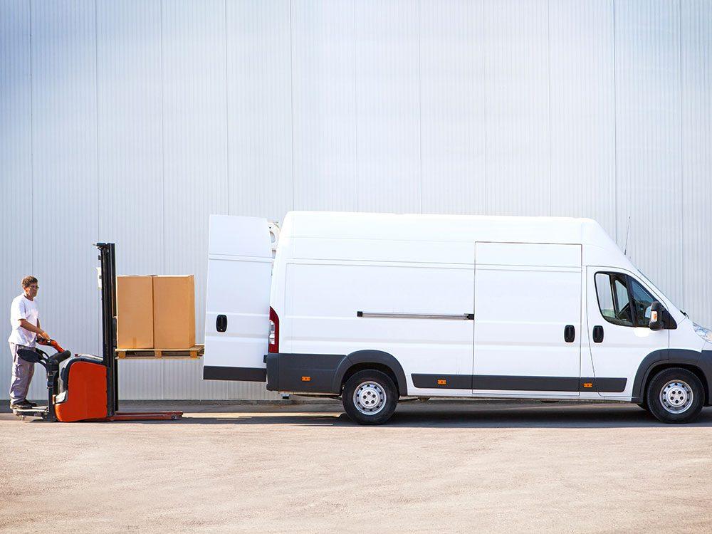 La livraison sans frais est un concept de plus en plus répandu. C'est l'une des choses gratuites maintenant.