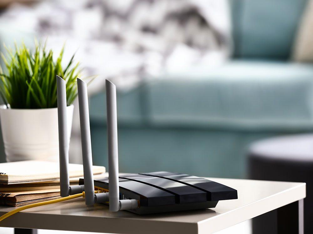 La Wi-Fi est une chose gratuite maintenant.