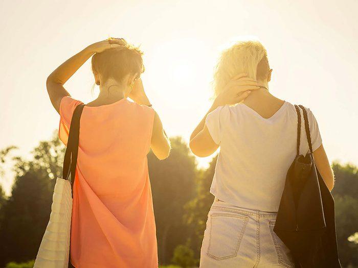 Beaucoup d'amis évoluent dans des directions différentes et cela peut provoquer un conflit entre amis.