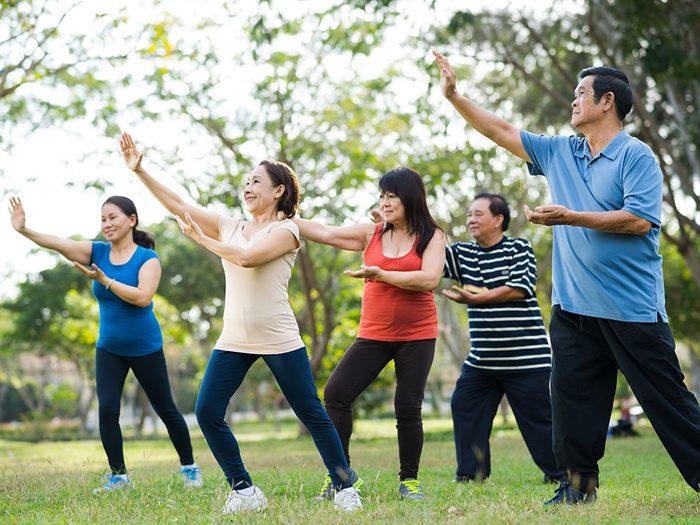 Pratiquer une activité physique régulière peut réduire les risques de démence.
