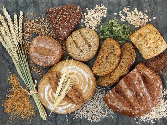 Mangez davantage de glucides complexes pour retrouver votre énergie.