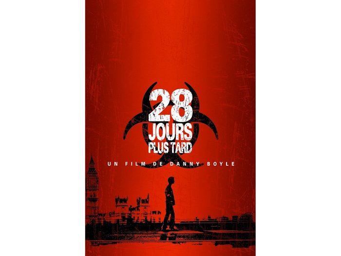 28 jours plus tard est l'un des films d'horreur à voir absolument.