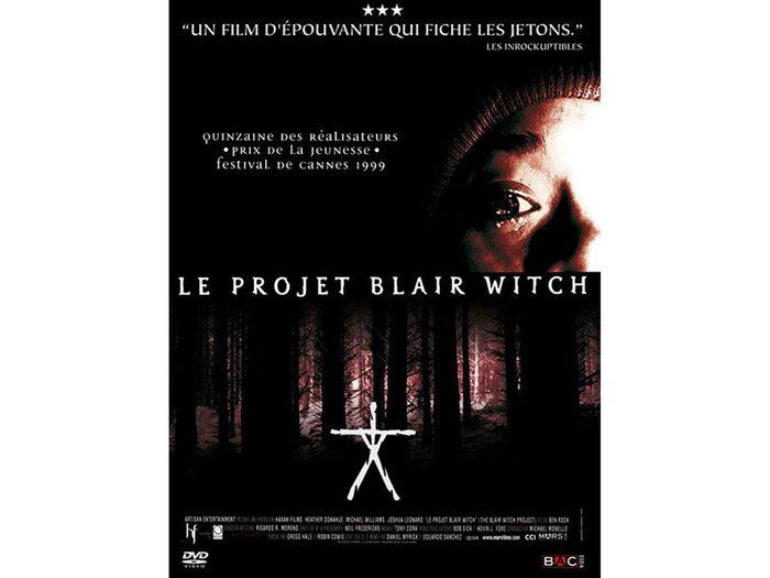 Le projet Blair Witch est l'un des films d'horreur à voir absolument.