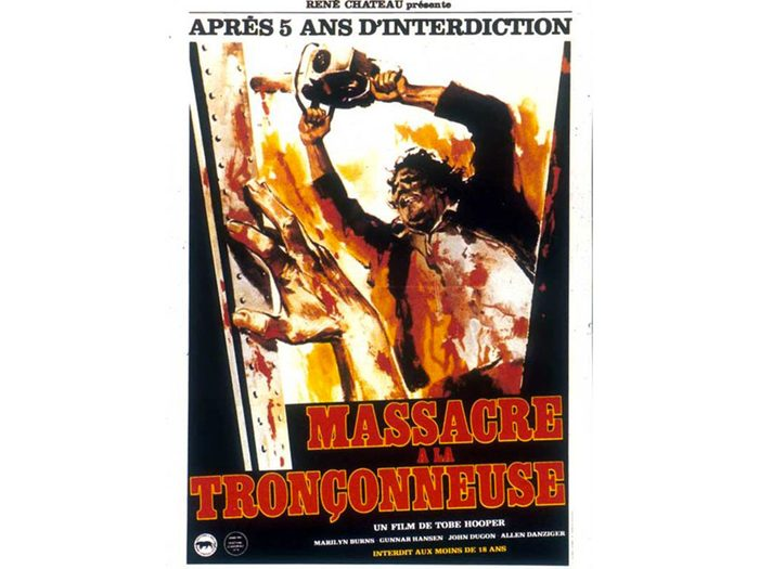 Massacre à la tronçonneuse est l'un des films d'horreur à voir absolument.