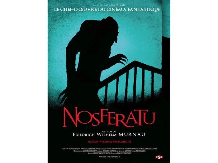 Nosferatu le vampire est l'un des films d'horreur à voir absolument.