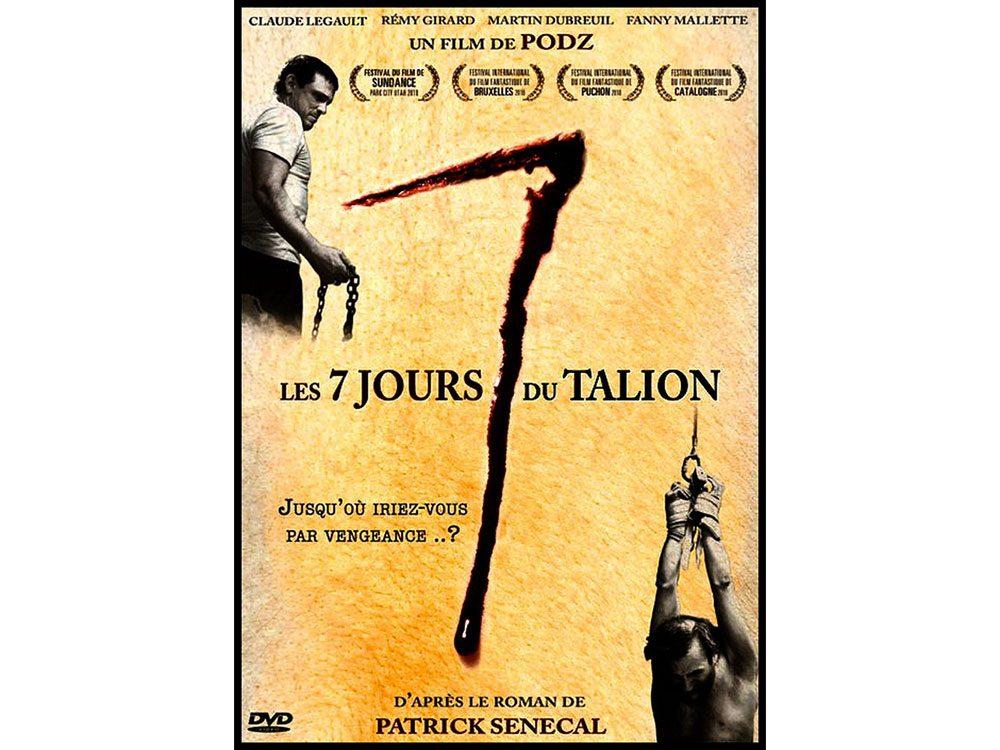 Les sept jours du Talion est l'un des films d'horreur à voir absolument.