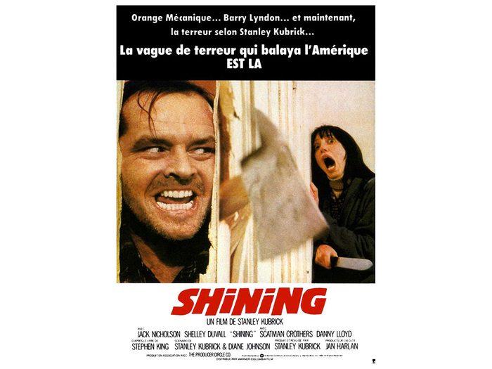 L'enfant lumière (The Shining) est l'un des films d'horreur à voir absolument.