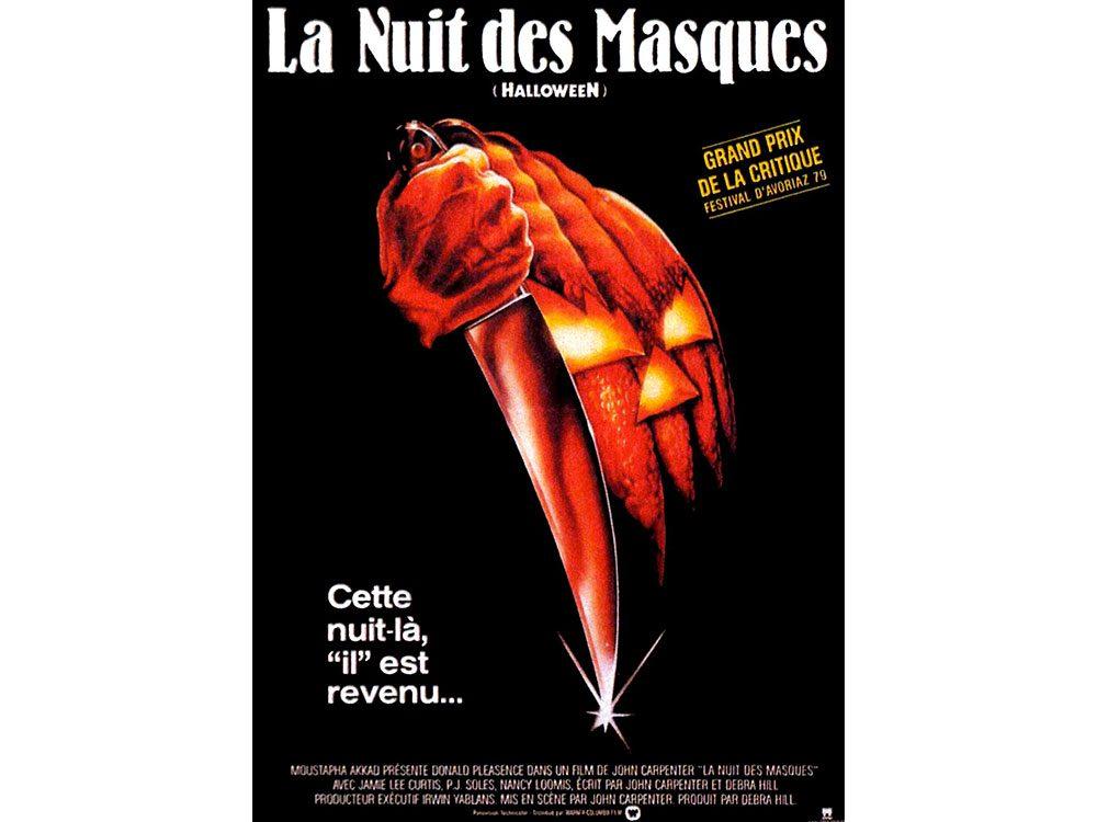 Halloween, la nuit des masques est l'un des films d'horreur à voir absolument.