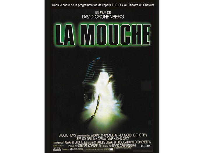 La Mouche est l'un des films d'horreur à voir absolument.