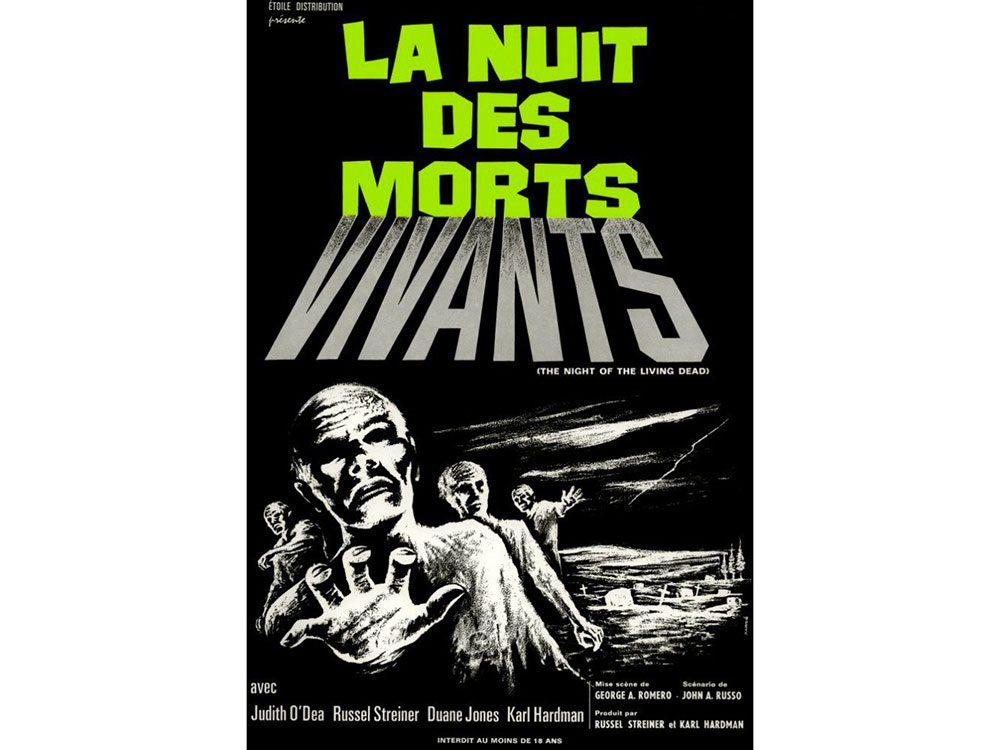 La Nuit des morts-vivants est l'un des films d'horreur à voir absolument.