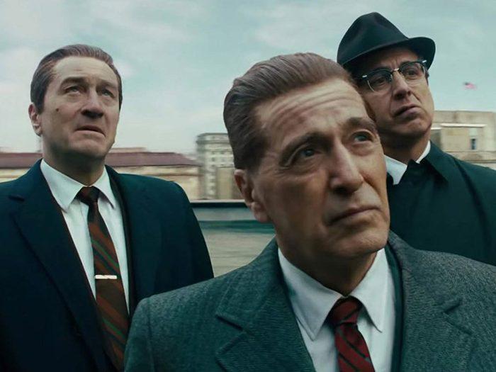 L'Irlandais est l'un des films et séries à voir au mois de novembre.