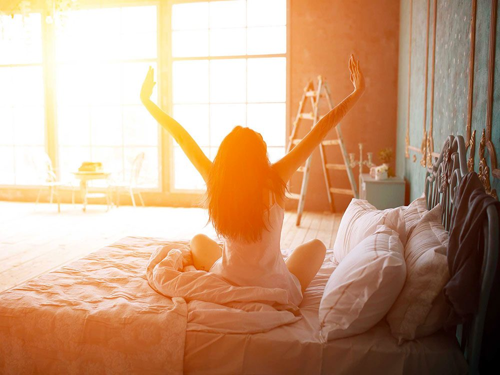 Allez-y doucement le matin pour éviter un mal de dos.