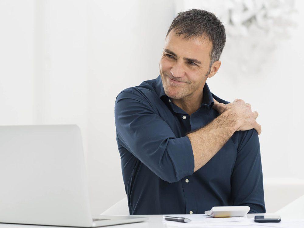 Les massothérapeutes peuvent savoir si votre travail a des répercussions physiques.