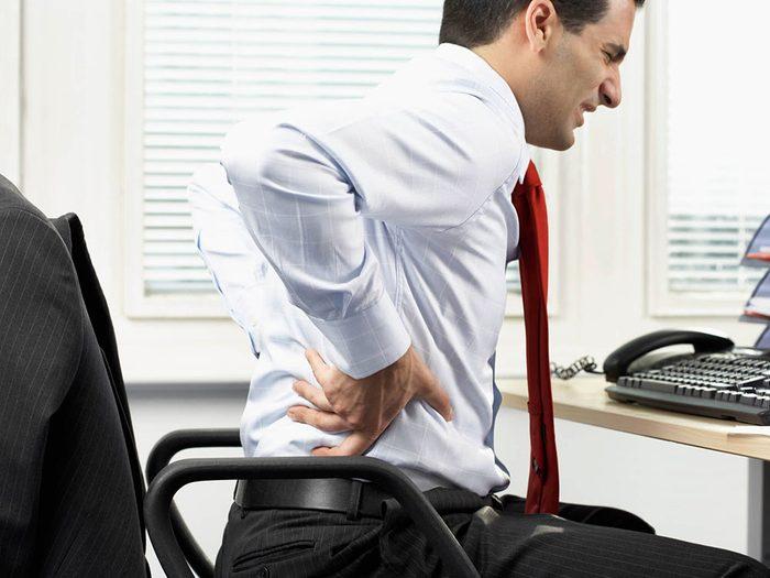 Les massothérapeutes peuvent savoir si vous êtes sujet aux lombalgies.