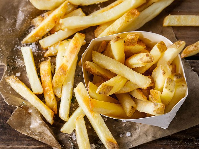 Mieux vaut ne pas top manger de frites.